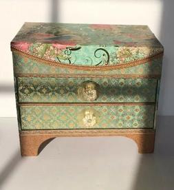Punch Studio 2-Drawer Jewelry Box/Organizer with Mirror - Bi