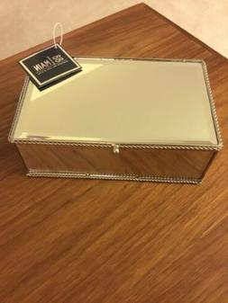88 Main Product -  Jewelry Box Mirror Polished Nickel