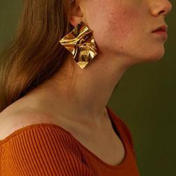 Accessories Earrings Mirror Ladies Jewelry Charming Temperam