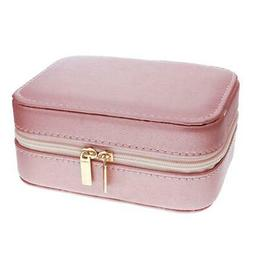 Mele - Aimee Rose Goldtone PU Jewellery Box With Mirror & Co