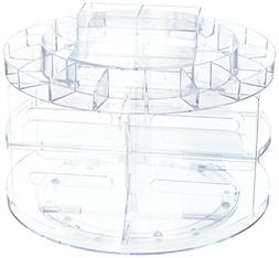 Cosmetic Organizer Carousel Clear Acrylic - Total Vision