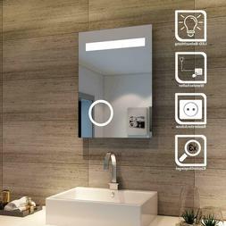 Design LED Bathroom Light Mirror With Jewellery