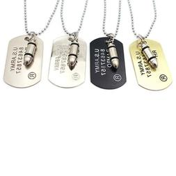 Fashion Mens Ladies Personalized Tag Necklace Choker Chain G