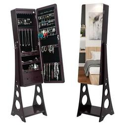 full length mirror jewelry cabinet dressing armoire