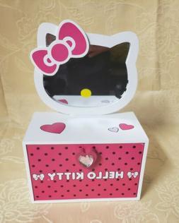 Hello Kitty Girls Toy Jewelry Box & Mirror Sanrio