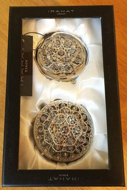 Tahari Jeweled Ring/Jewelry Box & Compact Mirror Mother's Da