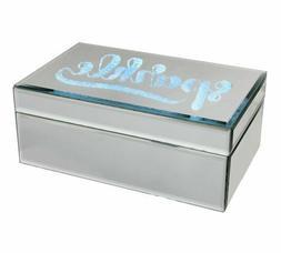 Jewellery Box Mirror Sparkle Light Up