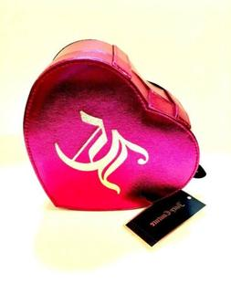 Juicy Couture Jewelry Box Pink Heart with Mirror Velvet Lini