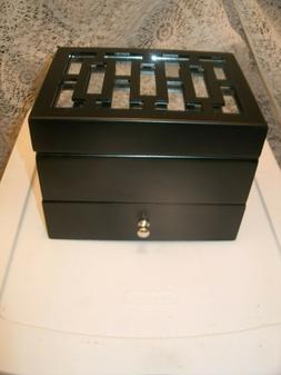 Jewelry Box by Honey and Hives - Flip Top - Compartments - D