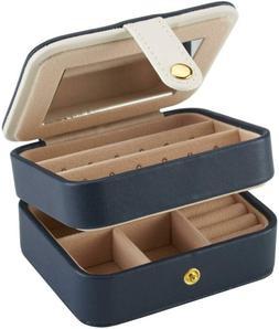 Nearbyme Jewelry Organizer Box, Travel Portable Jewelry Stor
