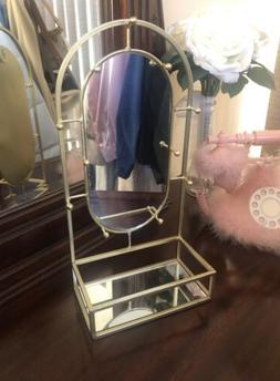 Jewelry Tray Gold Stand Mirror Organizer Macys