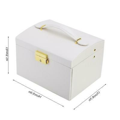 3 Tier Watch Jewelry Storage Display Lock