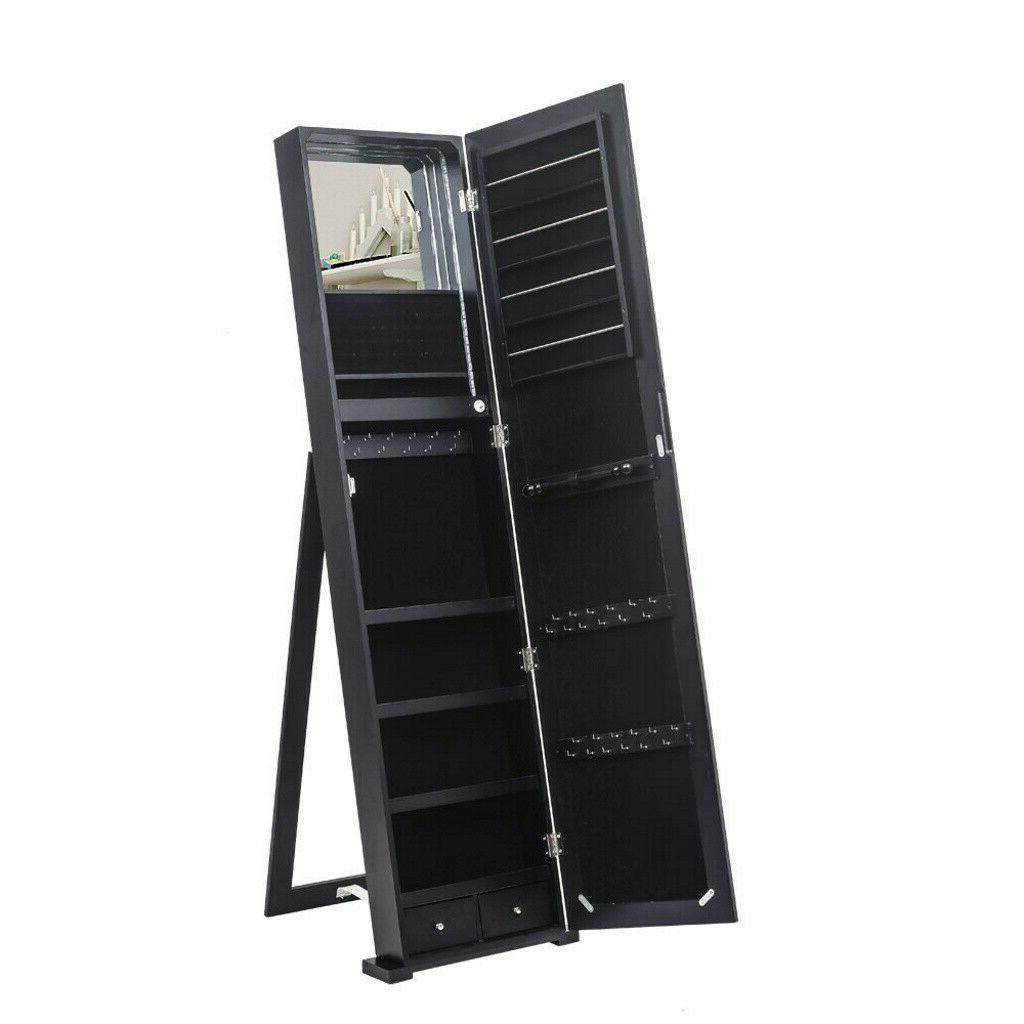 """59"""" Jewelry Cabinet Mirror with LED"""