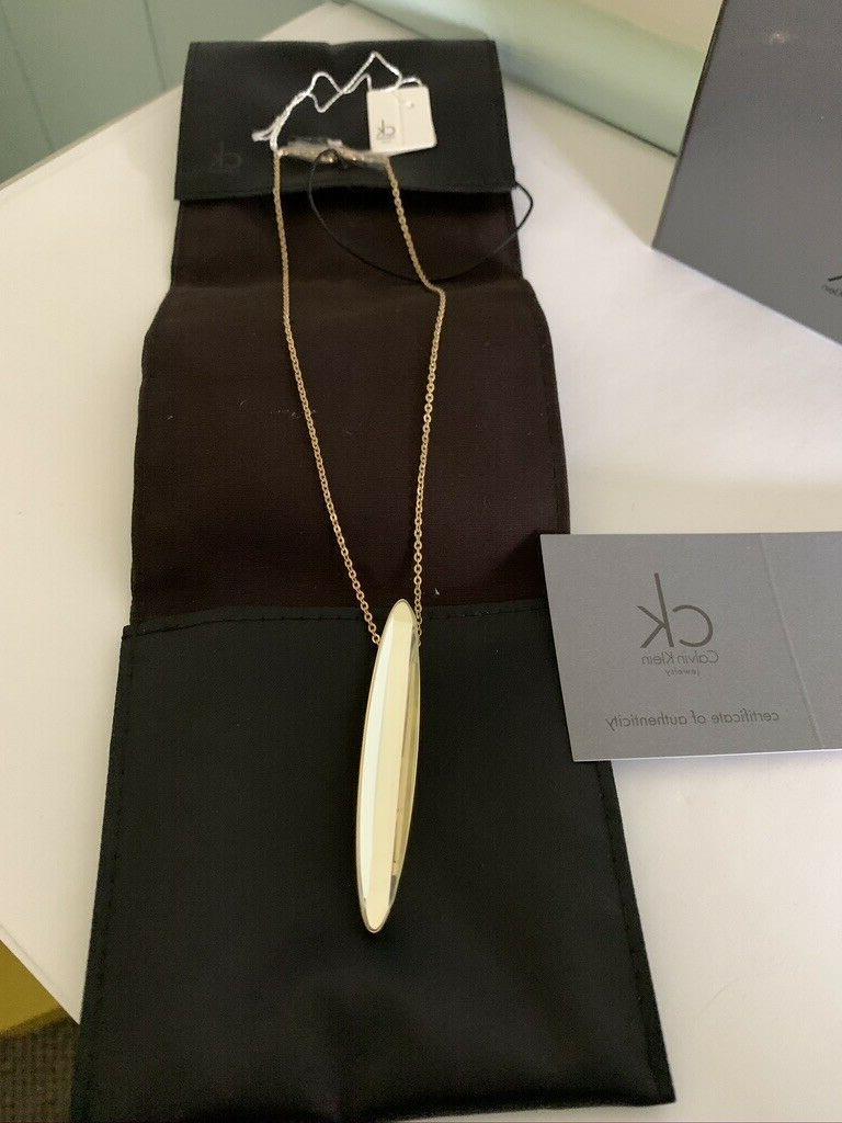 Calvin CK Jewelry Gold Mirrored Glass $200