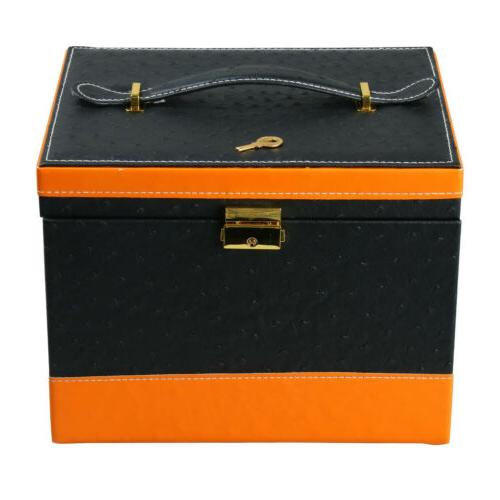 Faux Leather Treasure Storage Drawer