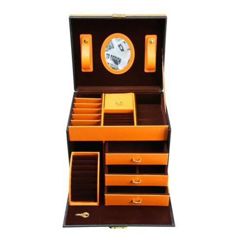 Faux Treasure Storage Organizer Case Drawer and