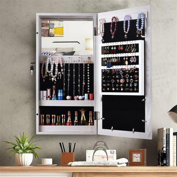 Hanging Display Jewelry Organizer Box