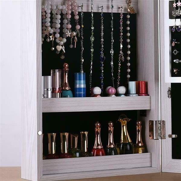 Display Jewelry Armoire Organizer