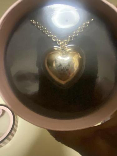 JUICY COUTURE HEART GLOSS PENDANT NECKLACE
