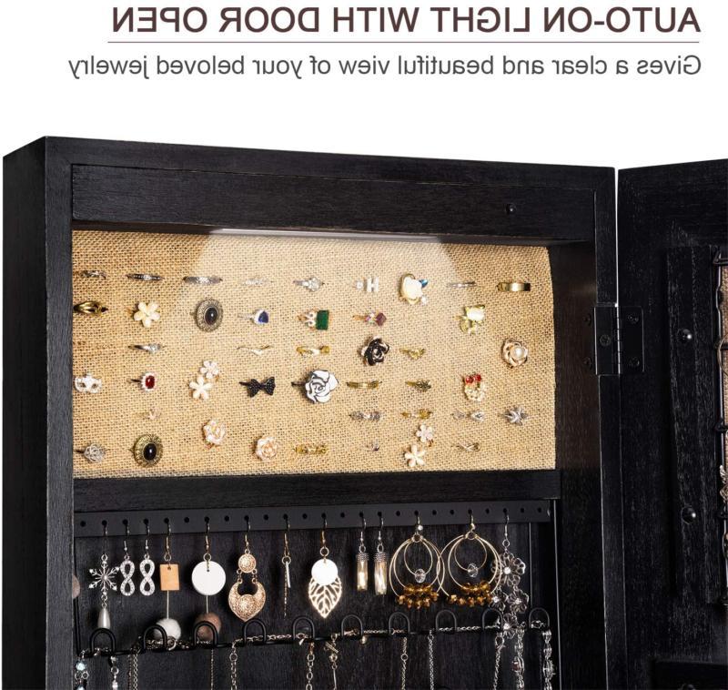 Jewelry Armoire Wood Length