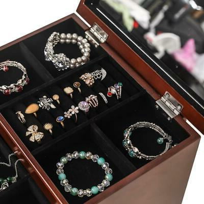 Jewelry Case Built-in Ring