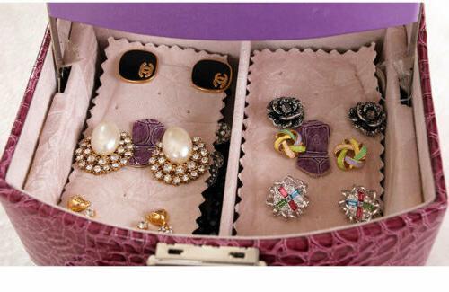 Jewelry Box Storage Mirror holder