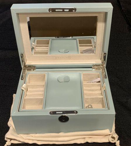jewelry boxes retro lockable wooden organizer w