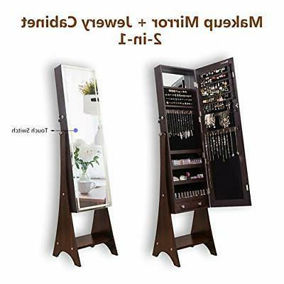 KEDLAN Cabinet Touch Full-Length Standing LED Strip