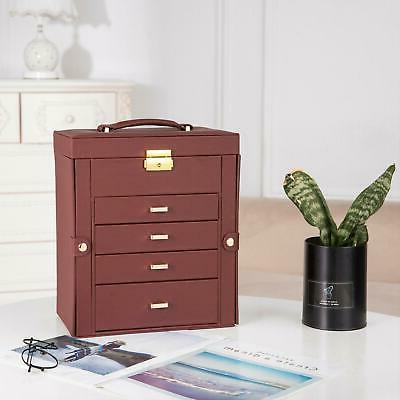 Large Box Necklace Cabinet Organizer Gift