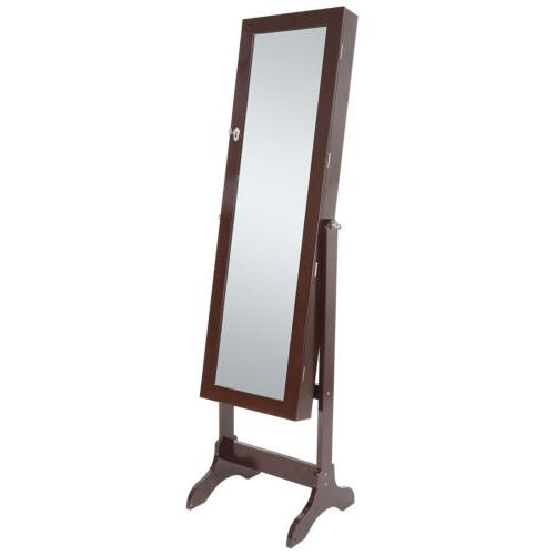 Lockable Cabinet Armoire Mirror Organizer Free