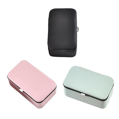 magideal 3 pieces pu jewelry case earring