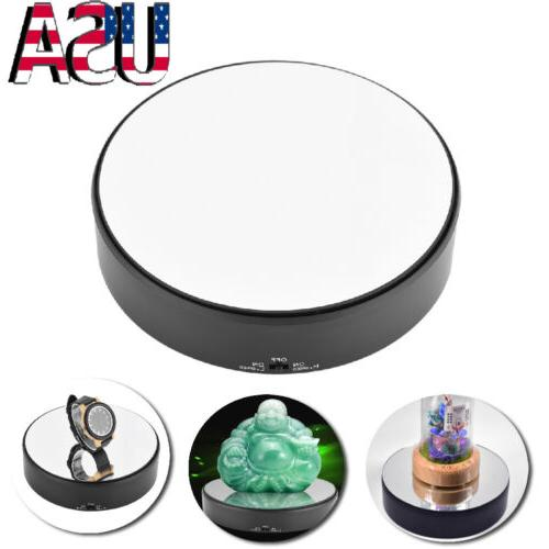 Rotating Mirror  Display Stand 7 inch Battery Operated Jewel