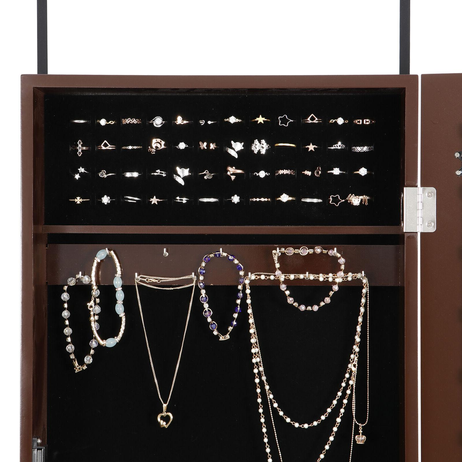 Mounted Wall Armoire Jewelry Box