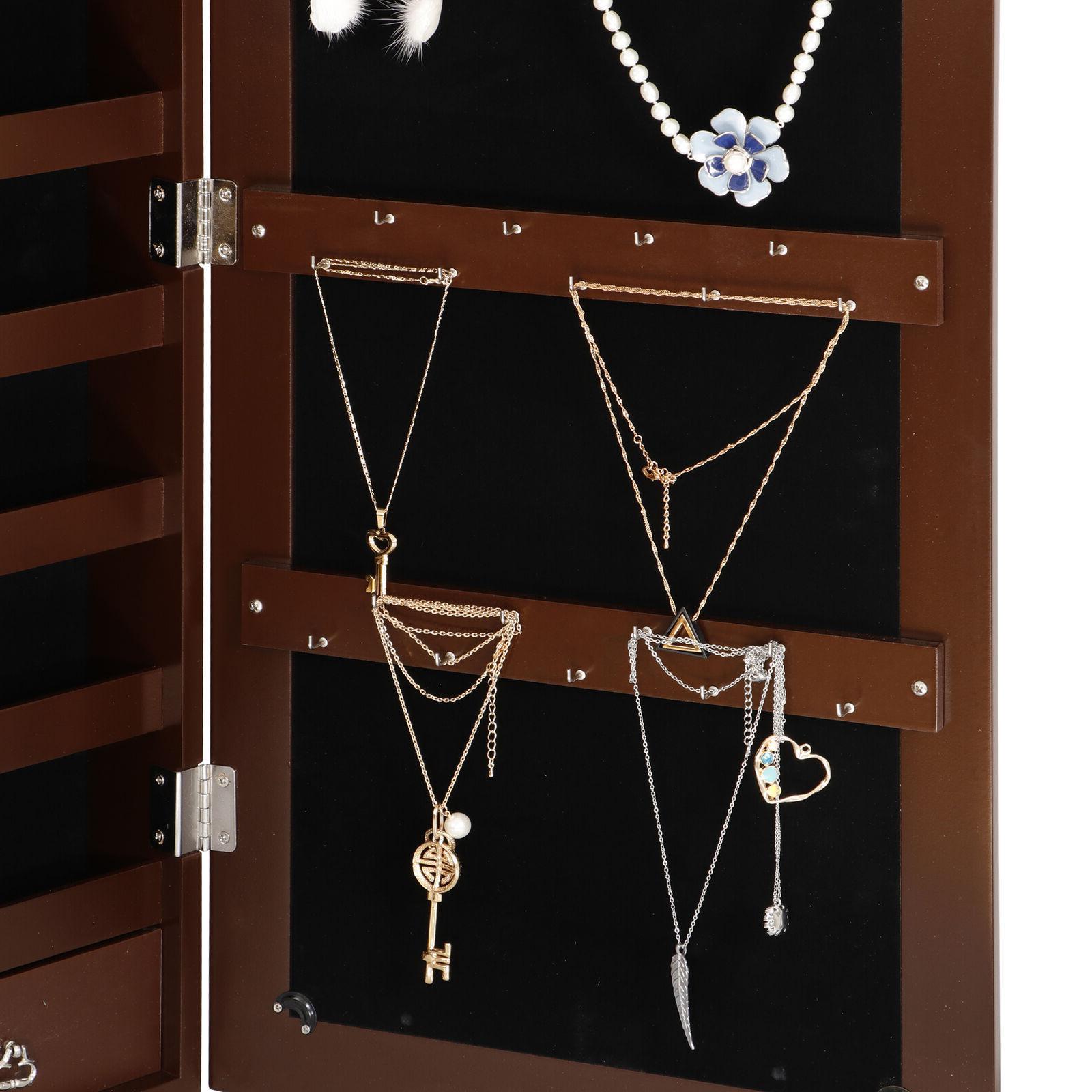 Mounted Cabinet Wall Jewelry Box