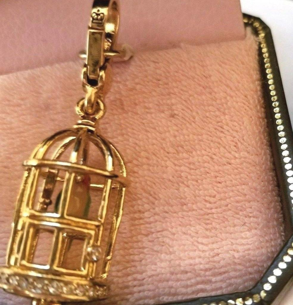 new in box nwt charm bird cage