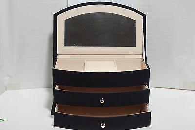 new pvc jewelry box black color 2