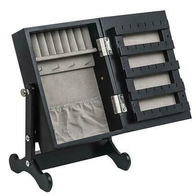 small mirrored jewelry cabinet organizer armoire storage
