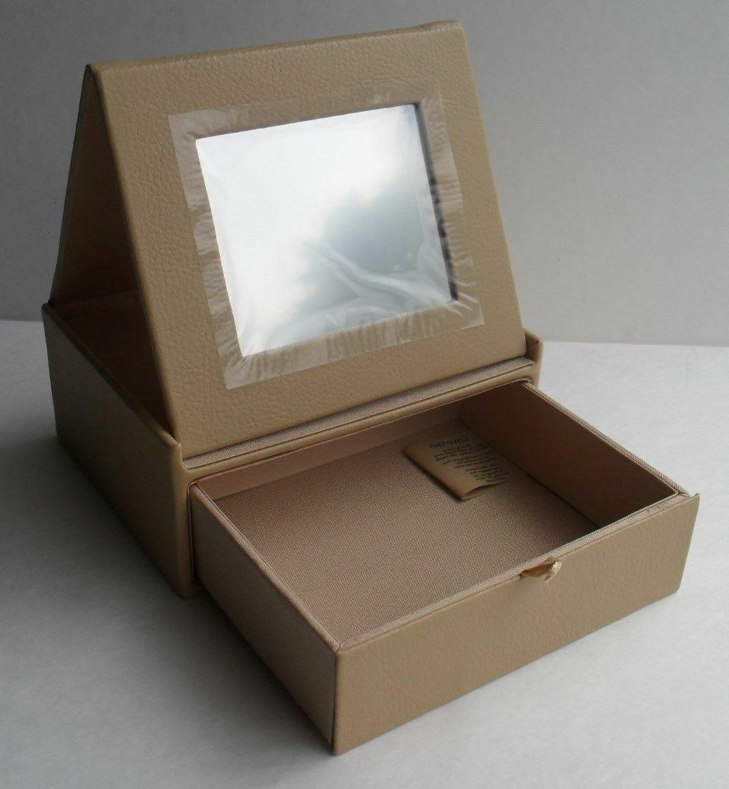Calvin Box Mirror Draw Storage