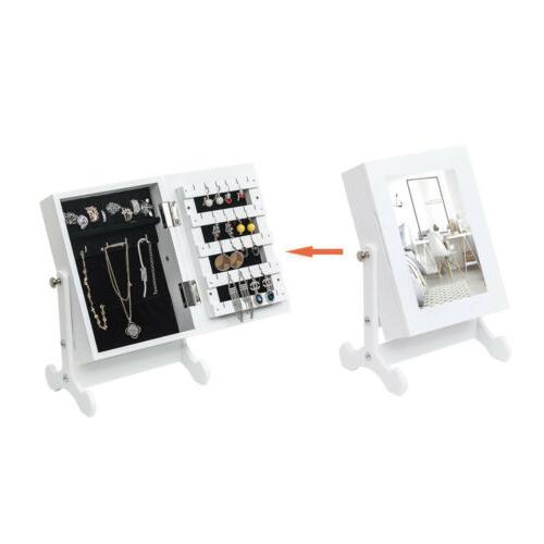 Small Mirror Organizer Storage Box