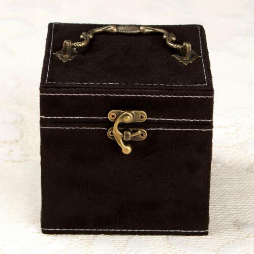Women Fashion Accessories Jewelry Storage Mirrored Organizer
