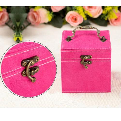 Women Jewelry Box Mirrored Organizer