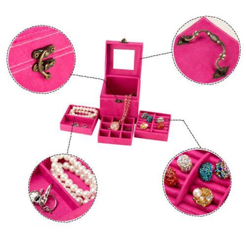 women fashion accessories ringcase jewelry box storage