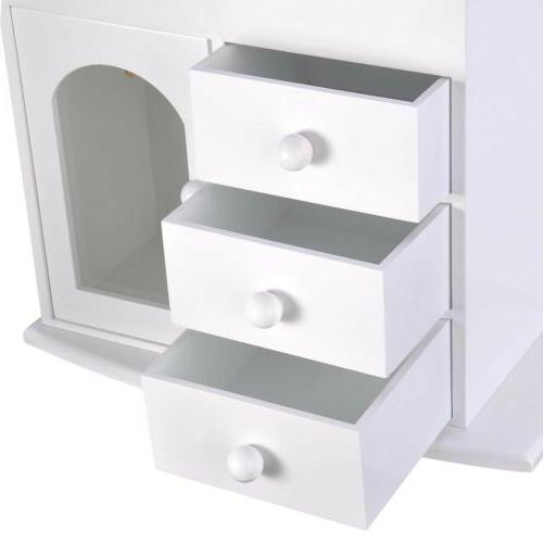 Mirror Earring Organizer Storage
