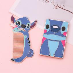 Lilo and Stitch Portable Mirror Cosplay Cosmetic Makeup Tool