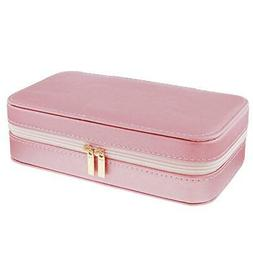 Mele - Lynne Rose Goldtone PU Jewellery Box With Mirror & Co