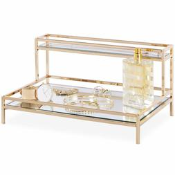 Beautify Mirrored Jewelry & Cosmetic Display Tray Decorative