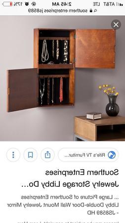 New Southern Enterprise Double door wall mount jewelry organ