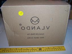 NEW--Vlando Deluxe Large Jewelry Box Storage Organizer Mirro