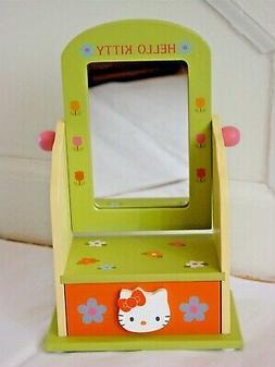 Sanrio Hello Kitty Mini Wooden Jewelry Chest Mirror