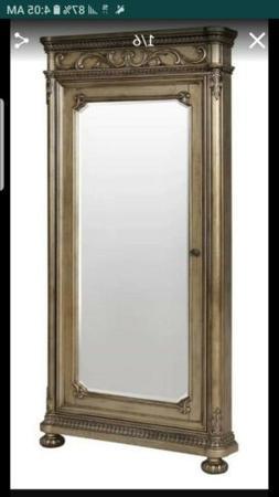 Avalon furniture Seville  Floor Mirror with Jewelry Storage
